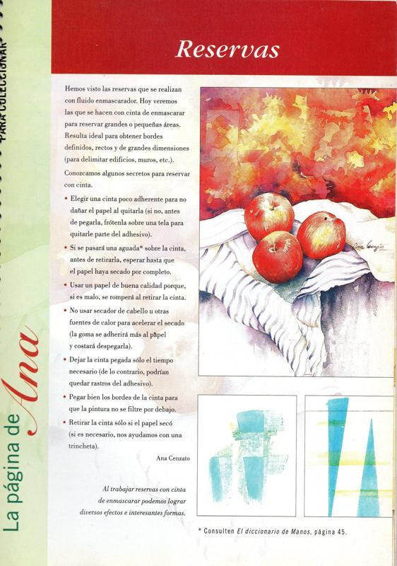 Manos a la obra ana cenzato una gran artista - Donde estudiar pintura ...