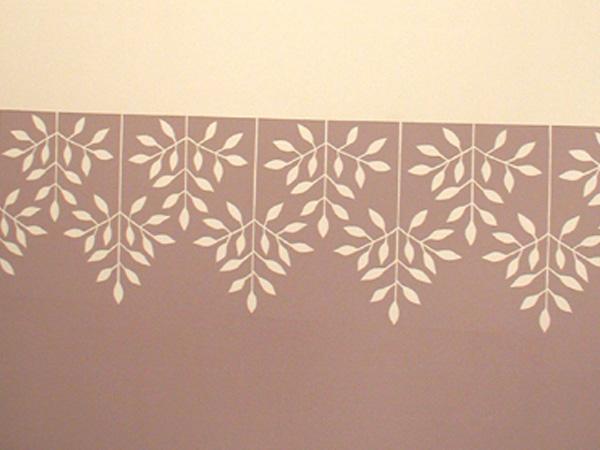 Stencil para imprimir guardas imagui for Papel de pared para pintar