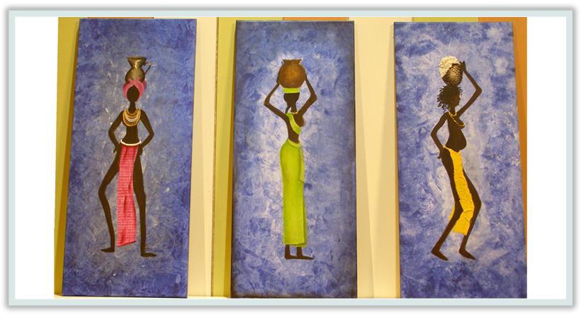 Dibujos de africanos para imprimir - Imagui