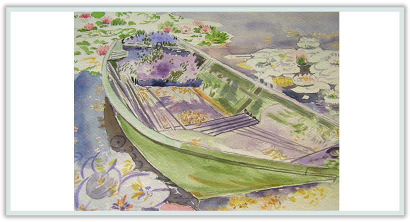 El estanque de nen fares for Pintura para estanques
