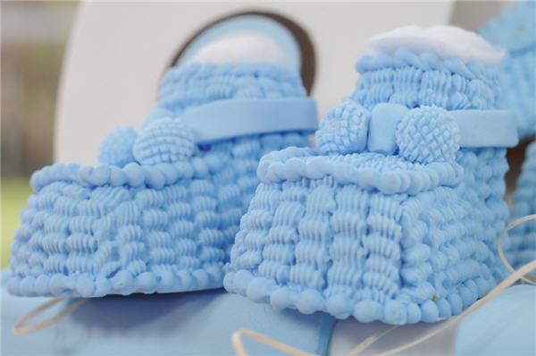 Como decorar canasta de mimbre para baby shower imagui