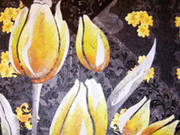 De todas las manualidades mural con servilletas - Pegamento para decoupage ...