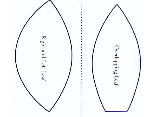 Moldes De Hojas De Las Palmas Para Imprimir: Quilt Con Aplicaciones De Flores