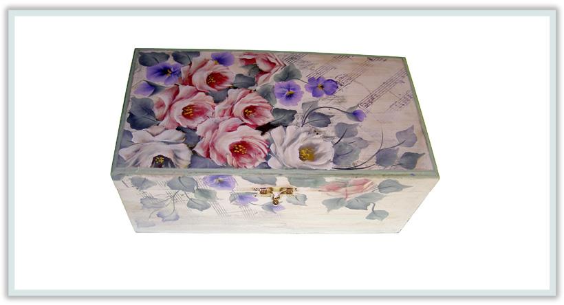 Caja y papelera estilo vintage - Articulos de madera para manualidades ...